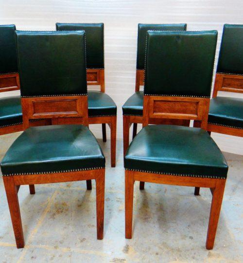 стулья кожаные после